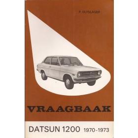 Datsun 1200 Vraagbaak P. Olyslager  Benzine Kluwer 70-73 ongebruikt   Nederlands