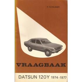 Datsun 120Y Vraagbaak P. Olyslager  Benzine Kluwer 74-77 met gebruikssporen   Nederlands