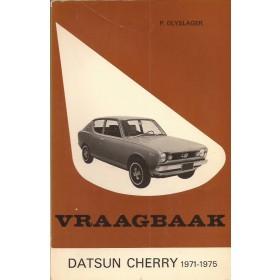Datsun Cherry Vraagbaak P. Olyslager  Benzine Kluwer 71-75 ongebruikt   Nederlands
