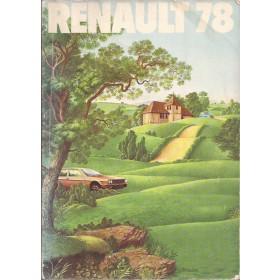 Renault Alle Jaarboek  Alle modellen Renault 78 met gebruikssporen   Nederlands